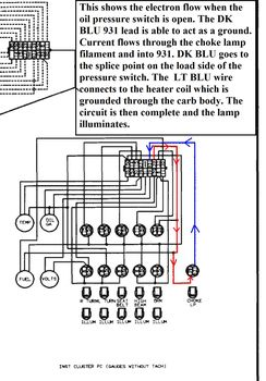 electric choke wiring gm square body 1973 1987 gm truck forum i hate to see the choke light wiring changed because when lit the engine running it is actually a visual indication that oil pressure is