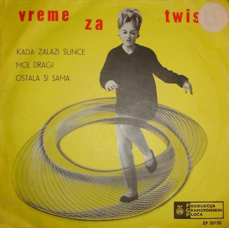 Gabi Novak 1963 Vrijeme za Twist A