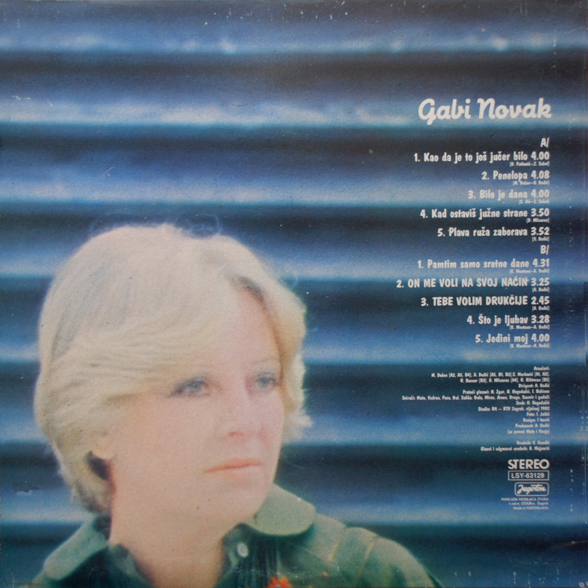 Gabi Novak 1982 Gabi Novak B