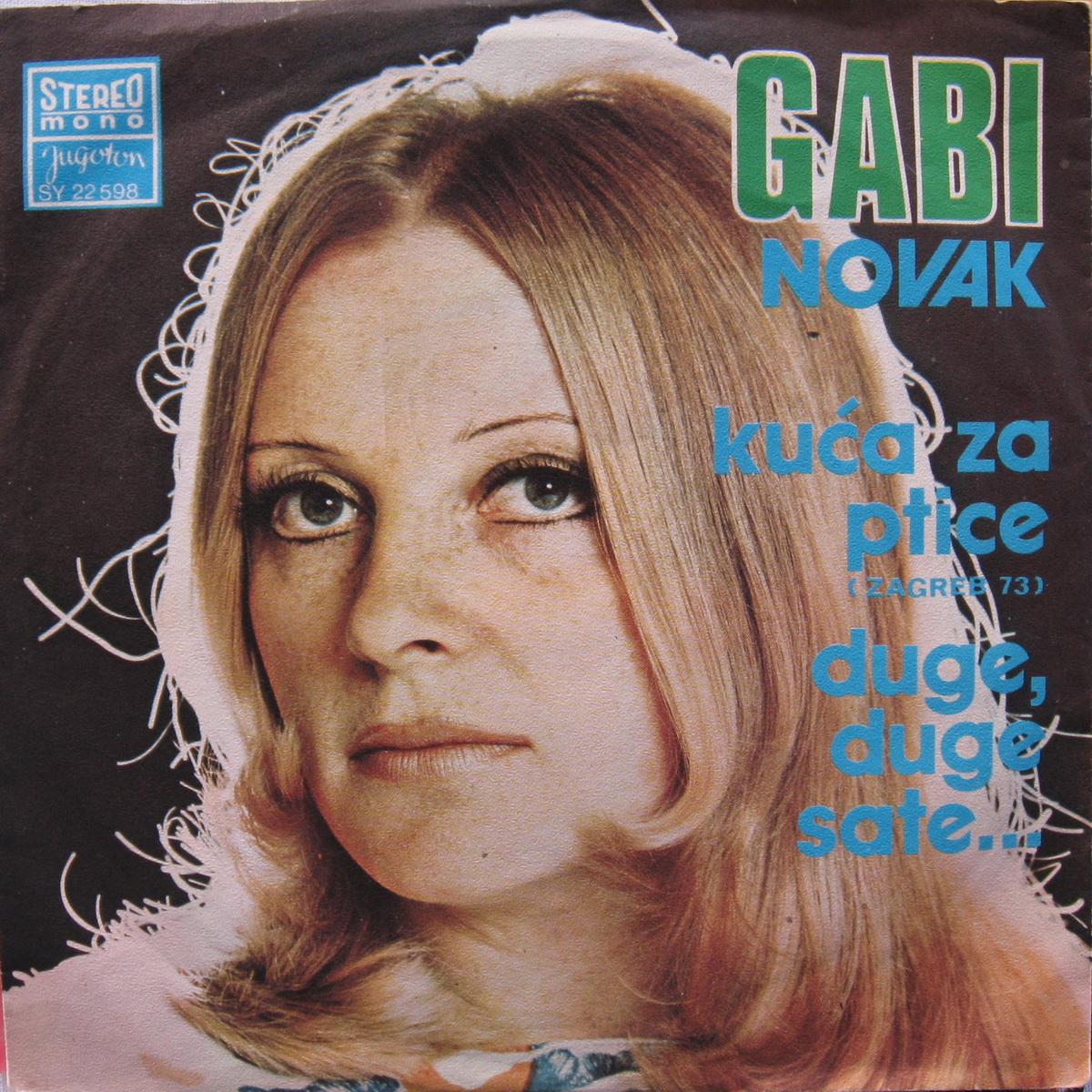 Gabi Novak 1974 Kuca za ptice a