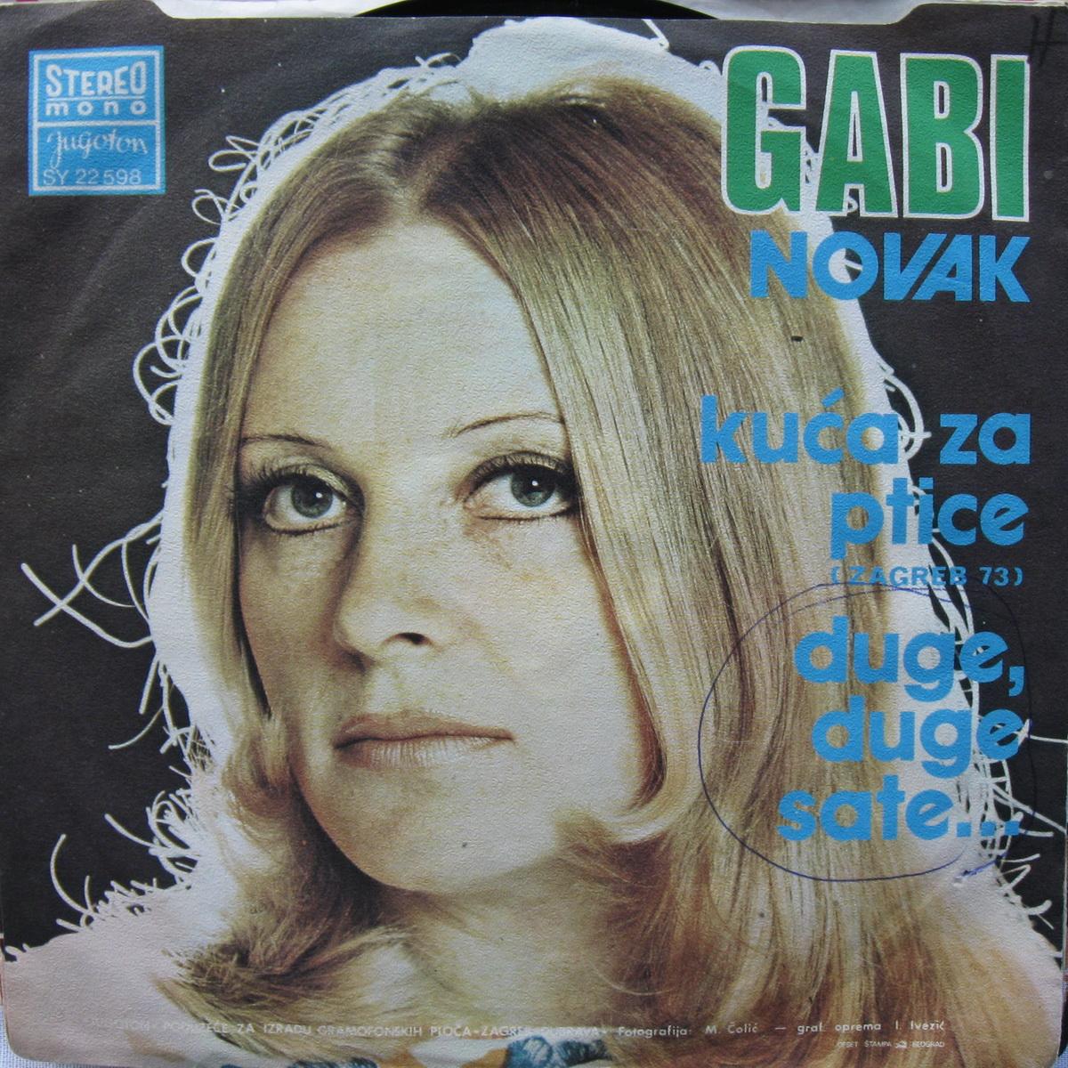 Gabi Novak 1974 Kuca za ptice b