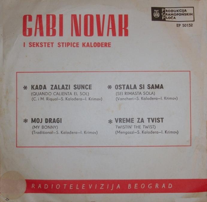 Gabi Novak 1963 Vrijeme za Twist B