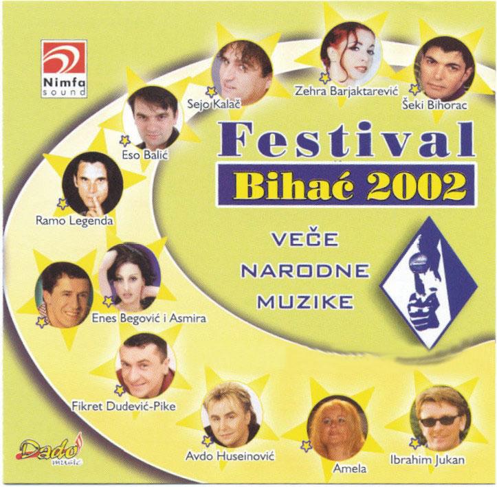 Bihacki festival 2002 front